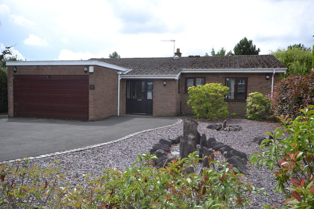 Thumbnail Detached bungalow to rent in Naples Drive, Newcastle-Under-Lyme