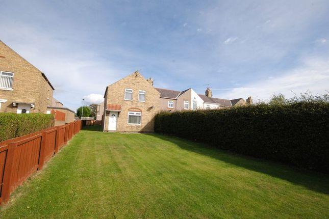 Thumbnail Terraced house for sale in Dalton Avenue, Lynemouth, Morpeth