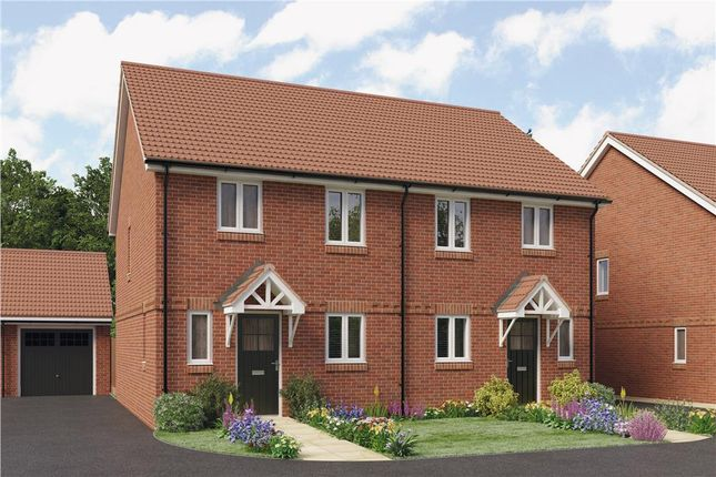 "Thumbnail Semi-detached house for sale in ""Violet"" at Didcot"