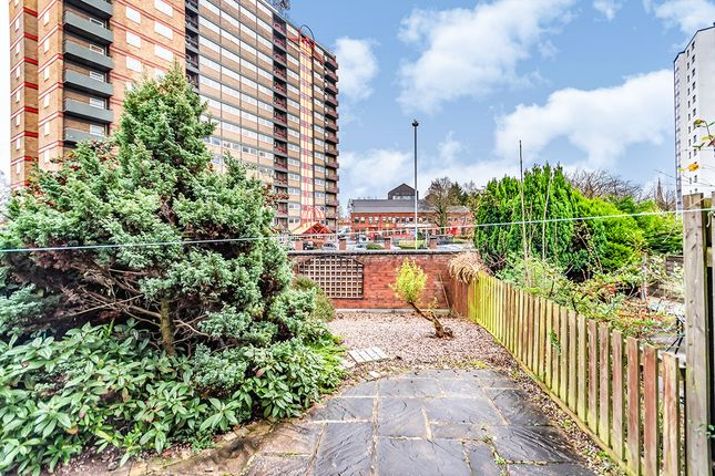 Rear Gardens of Angora Drive, Salford, Greater Manchester M3