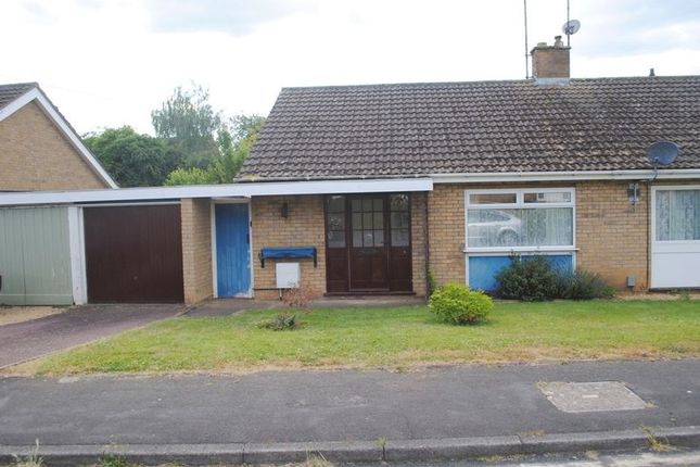 Thumbnail Semi-detached bungalow for sale in Haddon Close, Rushden