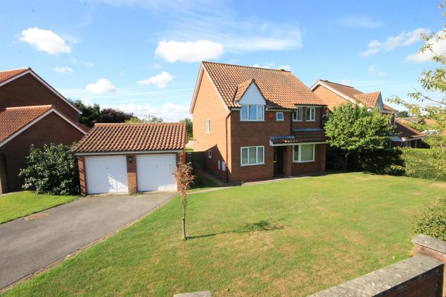 Thumbnail Detached house for sale in Mill Hill Crescent, Northallerton