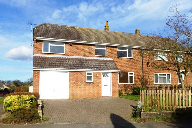 Thumbnail Semi-detached house for sale in St. Johns Road, Hartley Wintney, Hook