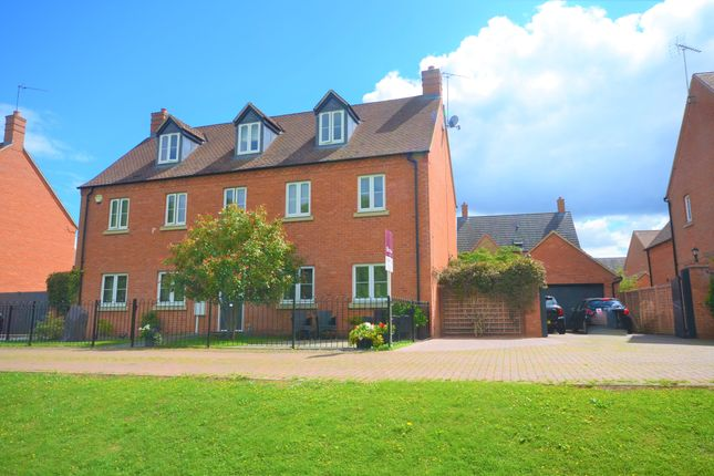 Thumbnail Detached house for sale in Nine Arches Way, Thrapston, Kettering