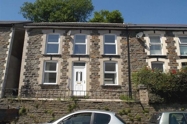 Thumbnail Semi-detached house to rent in Aberrhondda Road, Porth