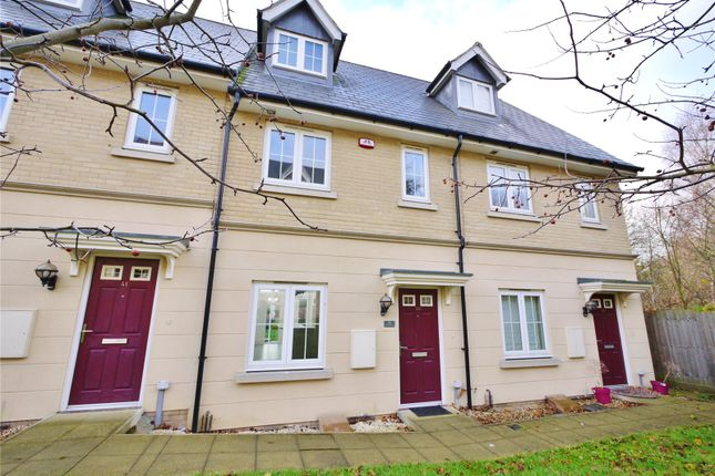 Thumbnail Terraced house for sale in De Paul Way, Brentwood, Essex