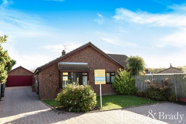 Thumbnail Detached bungalow for sale in King George Close, Rollesby, Great Yarmouth