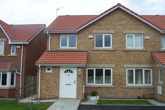 Thumbnail Semi-detached house for sale in Woodhorn Farm, Newbiggin-By-The-Sea
