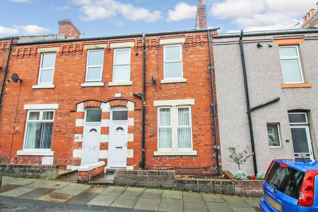 Thumbnail Terraced house for sale in Cheviot Road, Stanwix, Carlisle