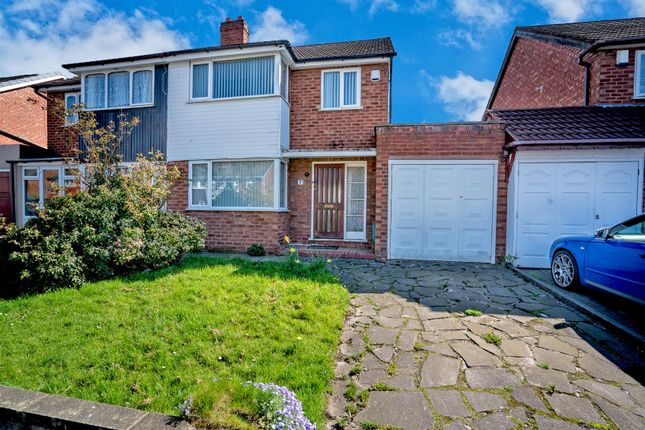 Thumbnail Semi-detached house for sale in Arundel Road, New Invention, Willenhall
