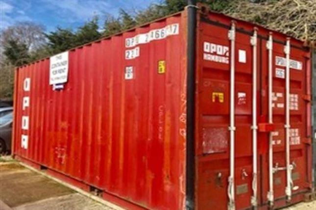 Light industrial to let in Container, Station Yard, Thame