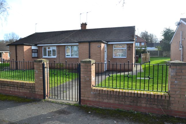 2 bed semi-detached bungalow to rent in Vicarage Close, South Kirkby, Pontefract WF9