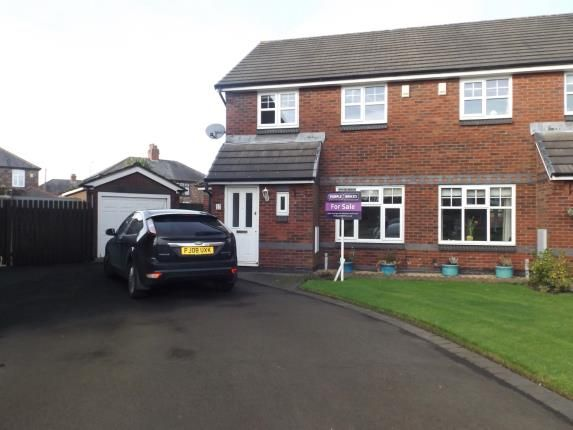 Semi-detached house for sale in Washbrook Close, St. Helens, Merseyside