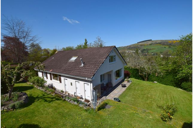 Thumbnail Detached house for sale in Barr Road, Galashiels