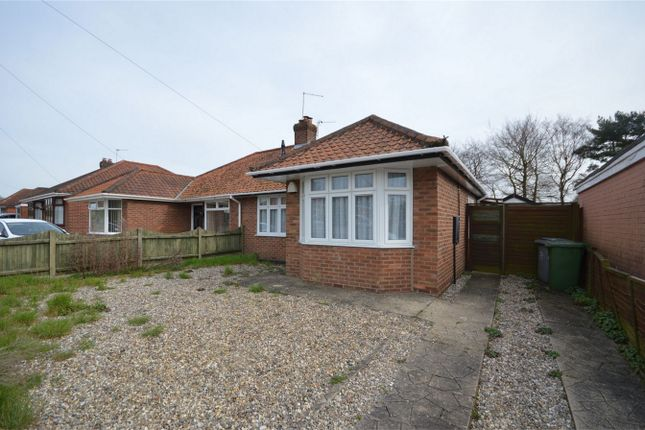 Thumbnail Semi-detached bungalow for sale in Gorse Road, Thorpe St Andrew, Norwich