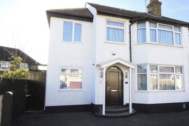 Thumbnail Semi-detached house for sale in Orchard Close, Ruislip