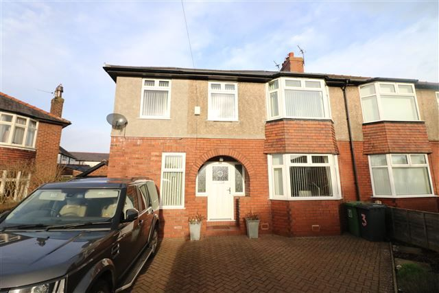 Thumbnail Semi-detached house for sale in Beechwood Avenue, Carlisle, Cumbria