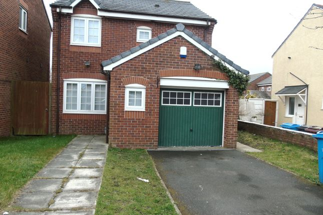 Thumbnail Terraced house to rent in Overton Close, Kirkby
