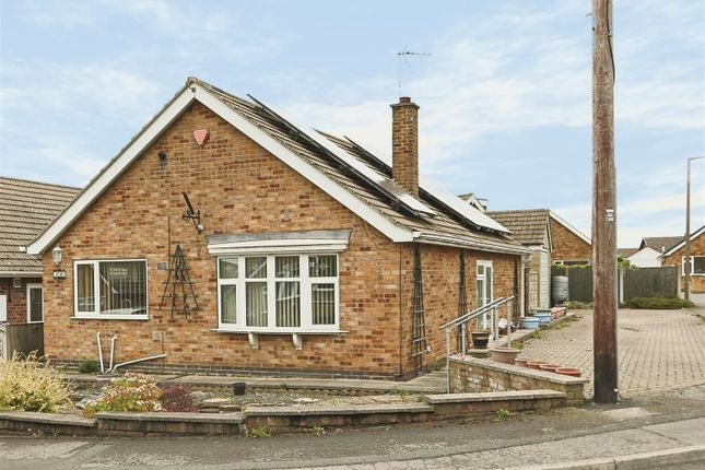 Thumbnail Detached bungalow for sale in Smeath Road, Underwood, Nottingham