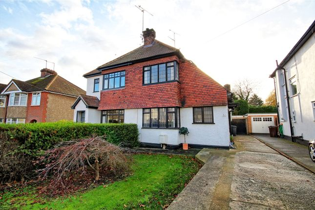 Thumbnail Semi-detached house for sale in Sixth Avenue, Chelmsford, Essex