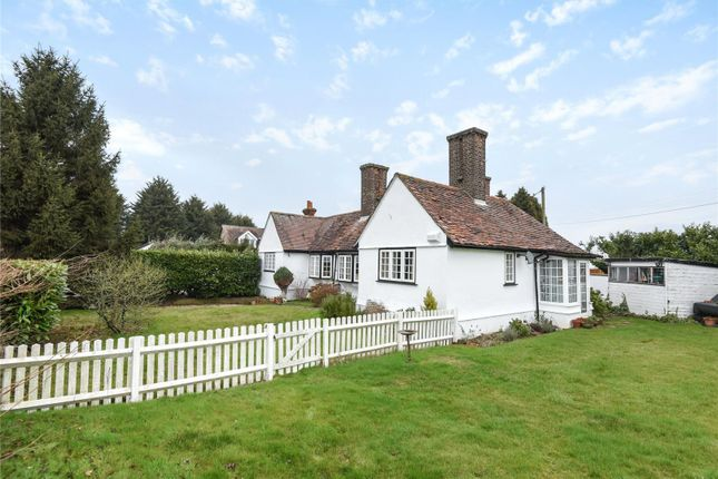 Thumbnail Detached bungalow for sale in New Road, Lambourne End, Romford, Essex
