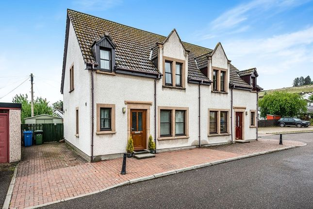 Thumbnail Semi-detached house for sale in Burn Court, Dingwall