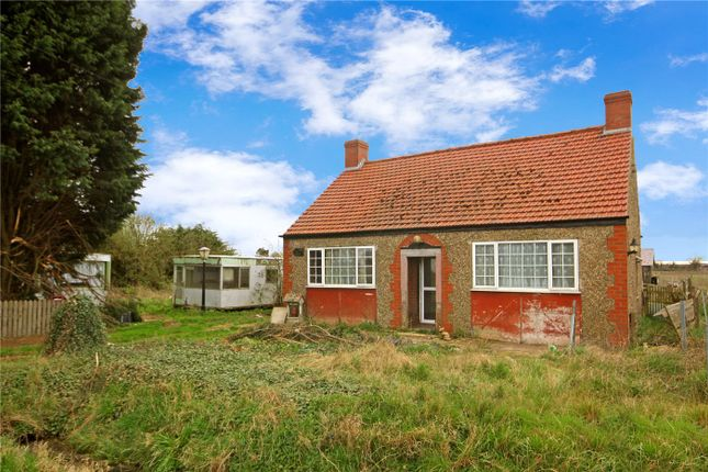Thumbnail Detached bungalow for sale in Langrick Road, Coningsby, Lincoln