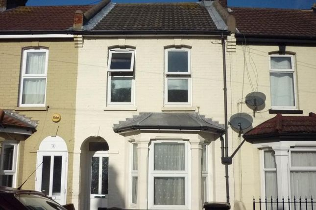 Thumbnail Terraced house to rent in Longfellow Road, Gillingham