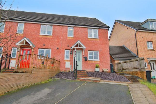 Thumbnail End terrace house for sale in Pen Y Duffryn, Cwm Faenor, Merthyr Tydfil
