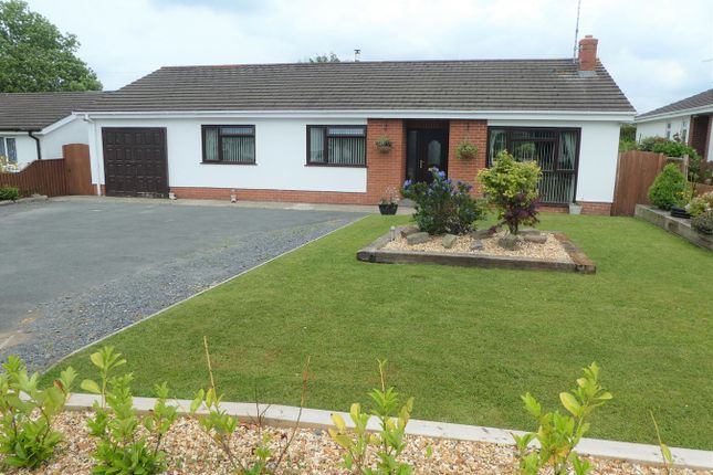 Thumbnail Detached bungalow for sale in Pencnwc Isaf Estate, Cross Inn, Nr New Quay
