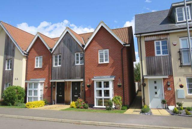 Thumbnail End terrace house for sale in Towpath Avenue, Pineham Lock, Northampton