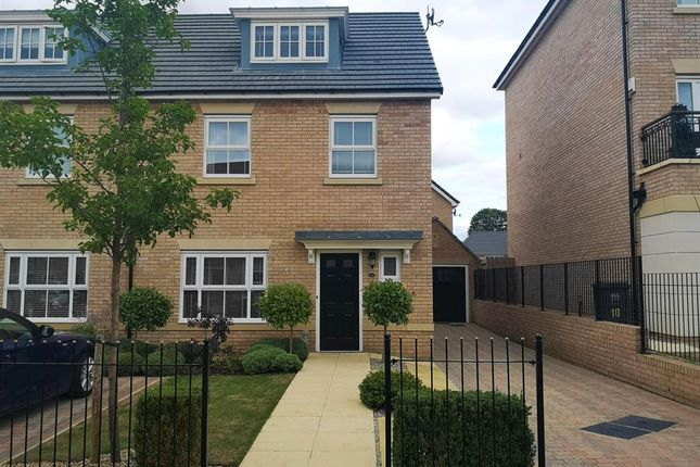 Thumbnail Semi-detached house to rent in St Andrew Walk, Newton Kyme