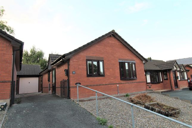 Thumbnail Detached bungalow for sale in Little Henfaes Drive, Welshpool
