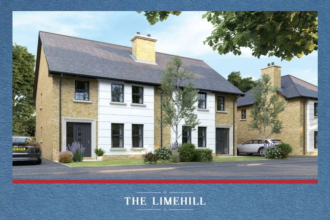 Thumbnail Semi-detached house for sale in Strawberry Hill Lane, Ballynahinch Road, Lisburn