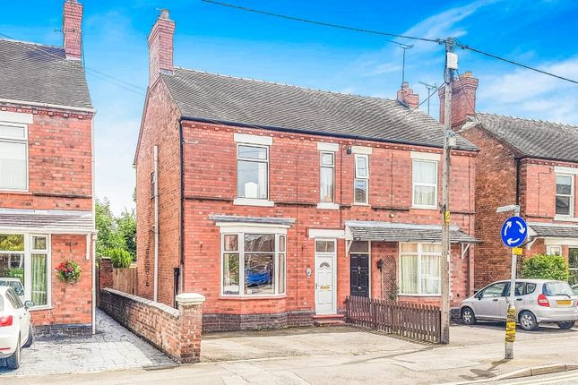Thumbnail Semi-detached house to rent in Wistaston Road, Willaston, Nantwich