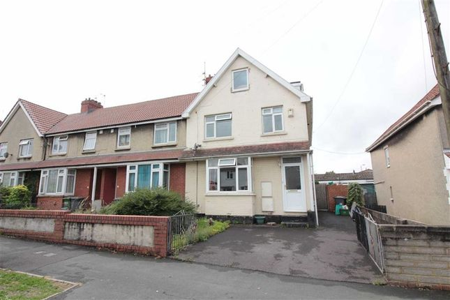Thumbnail End terrace house for sale in Seymour Road, Staple Hill, Bristol