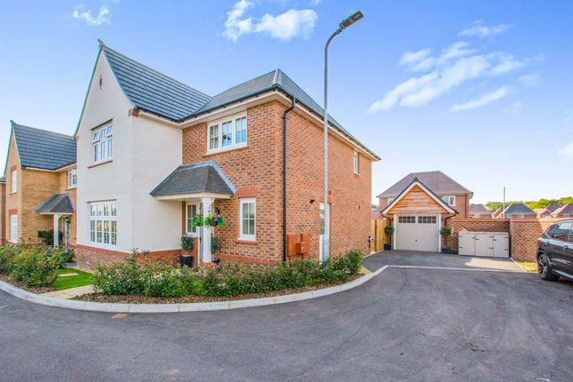 Thumbnail Detached house for sale in Coed Golau Close, Llanwern, Newport