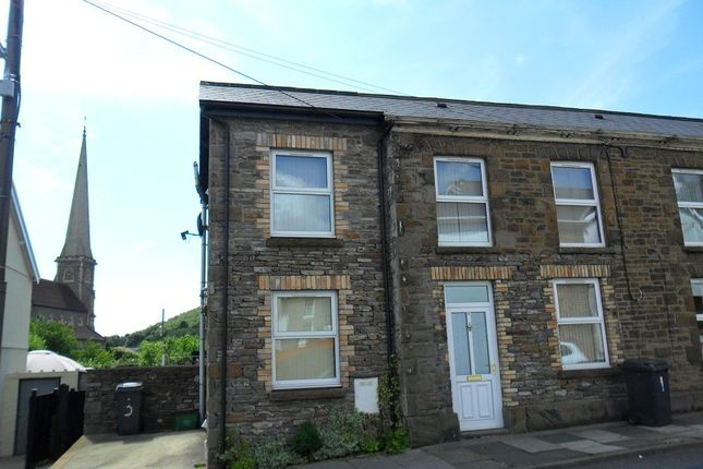 Thumbnail End terrace house to rent in Thomas Street, Pontardawe, Swansea.