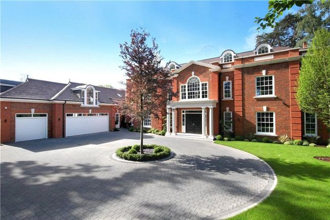 Thumbnail Detached house for sale in Virginia Avenue, Virginia Water, Surrey