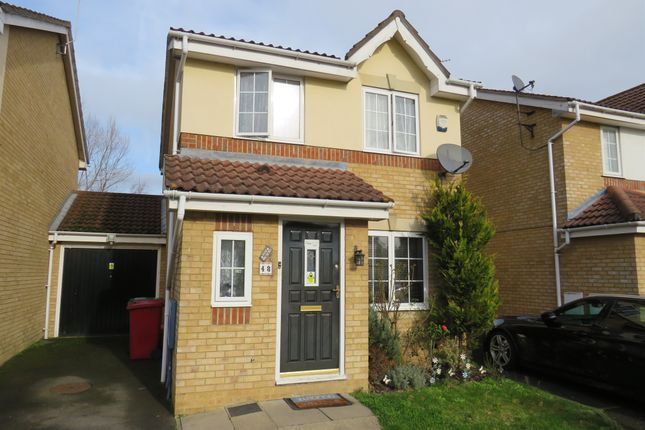 Thumbnail Detached house for sale in Gervaise Close, Cippenham, Slough