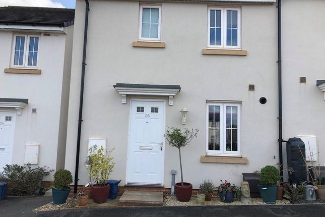 Thumbnail Semi-detached house to rent in Parlour Mead, Cullompton, Devon