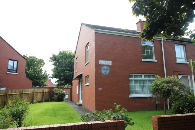 Thumbnail Semi-detached house for sale in 33 Finnis Close, Belfast