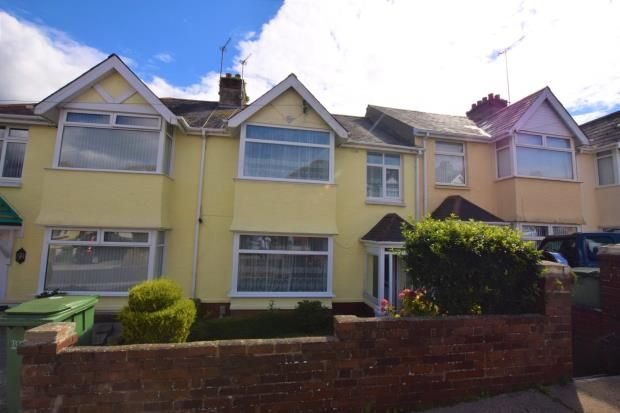 Thumbnail Terraced house for sale in Marldon Avenue, Paignton, Devon
