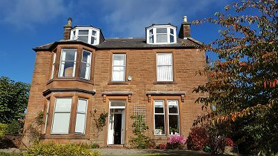 Thumbnail Detached house for sale in Holmlea, 16 Victoria Road, Dumfries