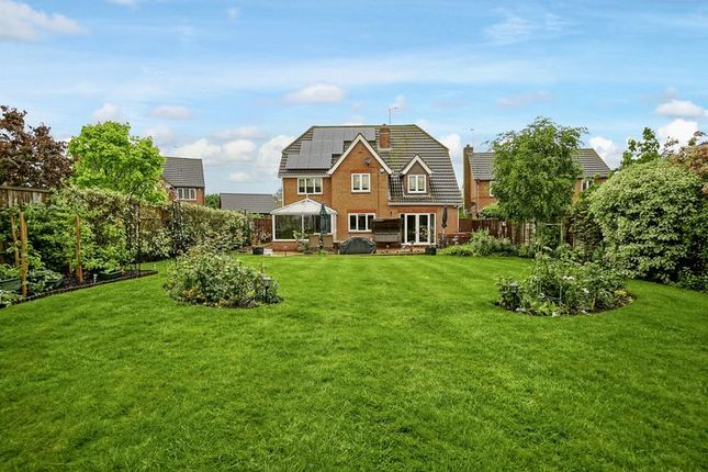 Thumbnail Detached house for sale in Middlemiss View, Godmanchester, Huntingdon