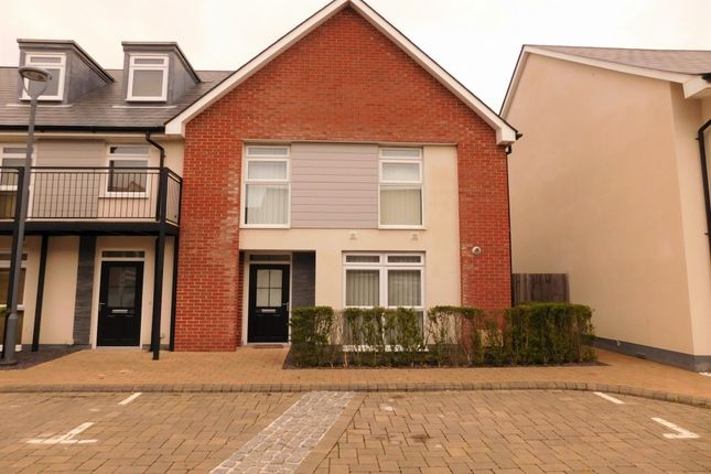 Thumbnail End terrace house for sale in Stabler Way, Hamworthy, Poole