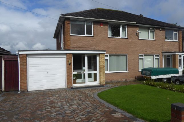 Thumbnail Semi-detached house for sale in The Crest, West Heath, Birmingham
