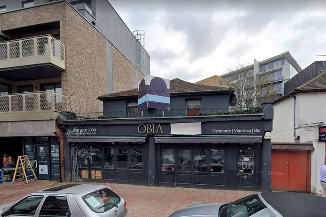 Thumbnail Restaurant/cafe for sale in 28-30 High Street, Purley, Surrey