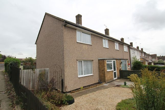 Thumbnail End terrace house to rent in Holly Leys, Stevenage