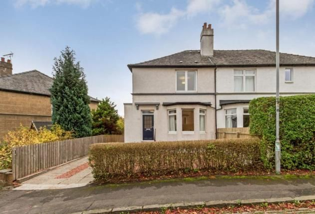 Thumbnail Semi-detached house for sale in Baronald Drive, Kelvindale, Glasgow
